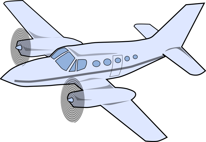 Aircraft vector airplane blueprint. Free to use public