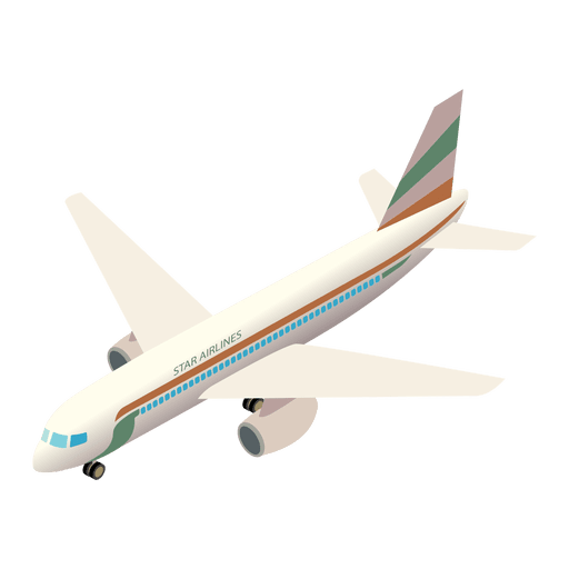 Aircraft vector infographic. Airplane shipment icon transparent