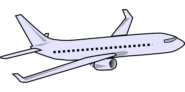 Aircraft vector modern. Clipart