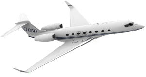 Aircraft vector private jet. Charter flights personal business