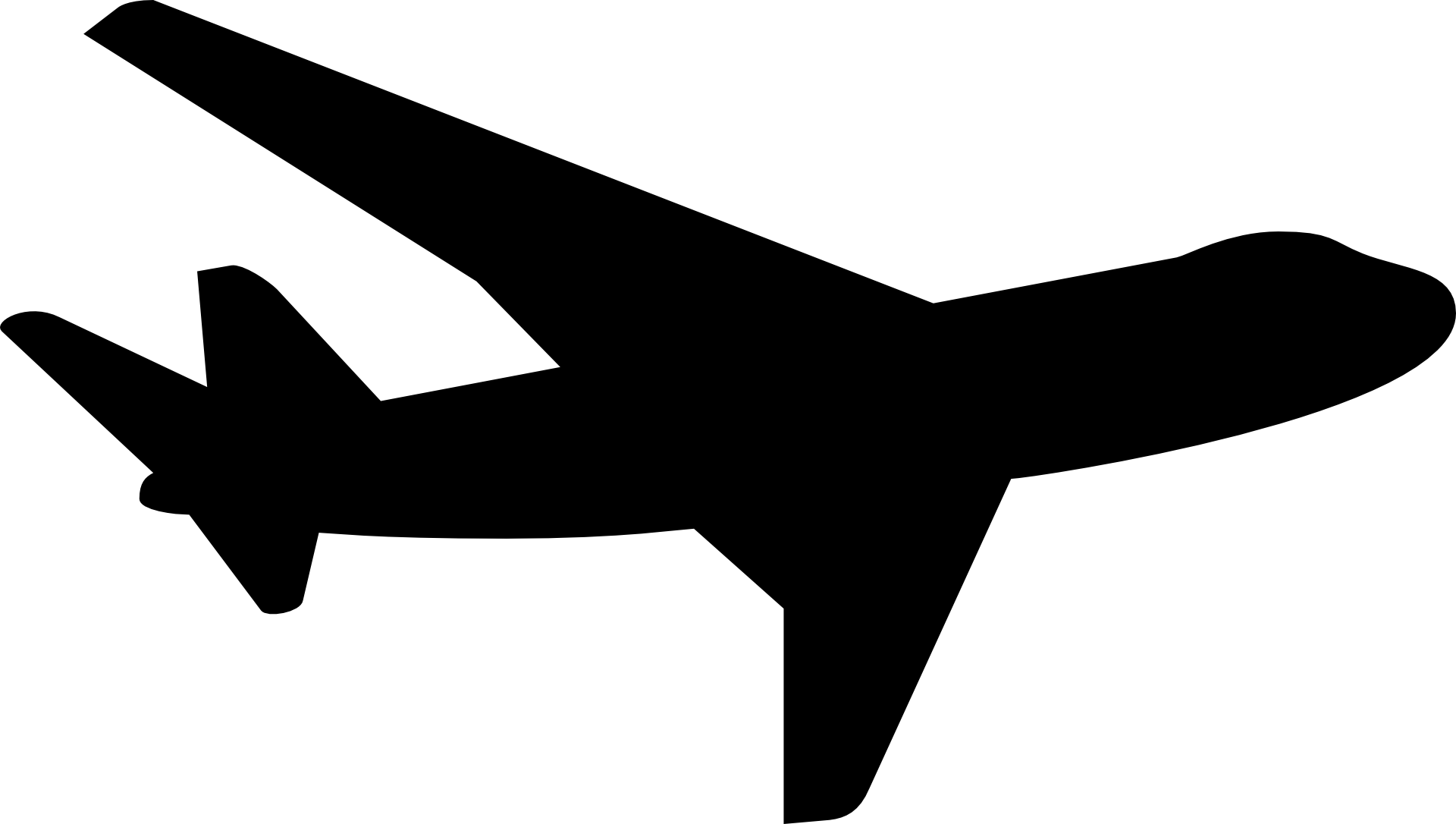 Aircraft vector transparent. Clipart plane huge