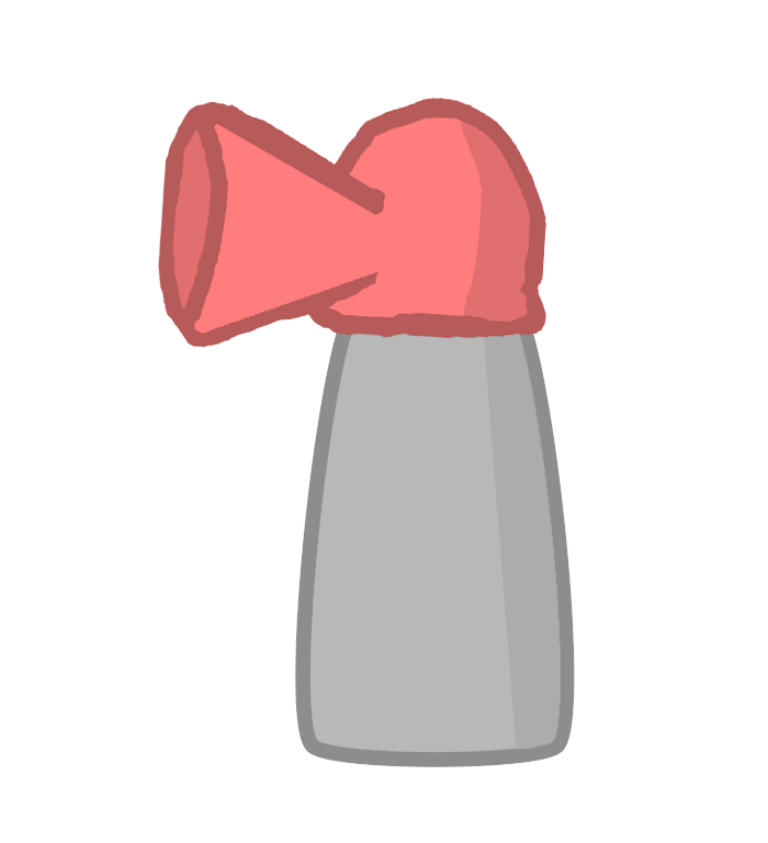 Airhorn png. Image body through the