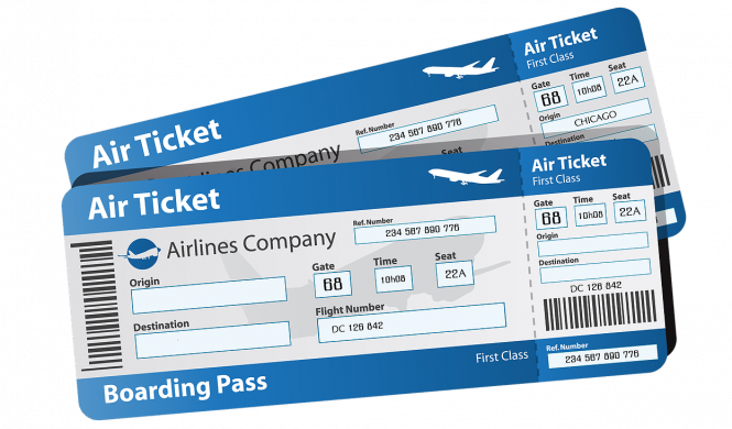 Airline ticket png. This app lets last