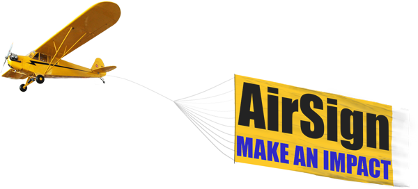 Airplane banner png. Atlanta advertising airsign towing