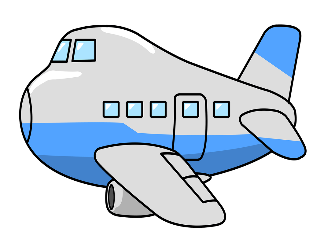 Airplane cartoon png. Free download clip art