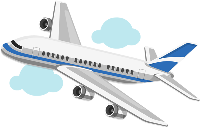 Airplane cartoon png. Desktop backgrounds on blue