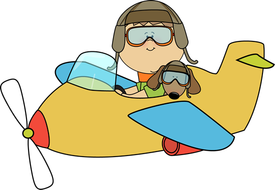 Airplane clip plane ride. Art images boy and