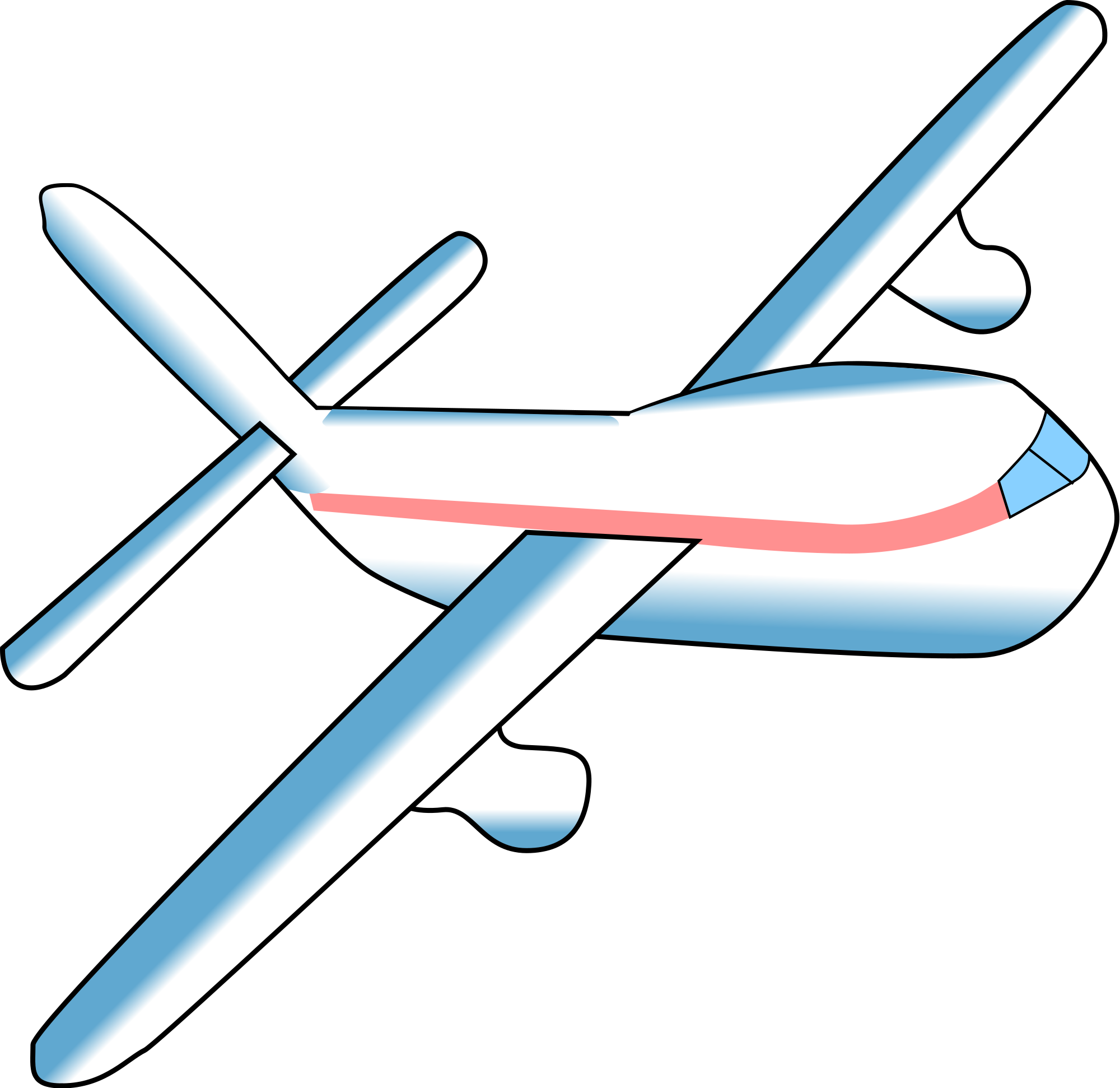 Airplane clip transparent background. File svg wikimedia commons