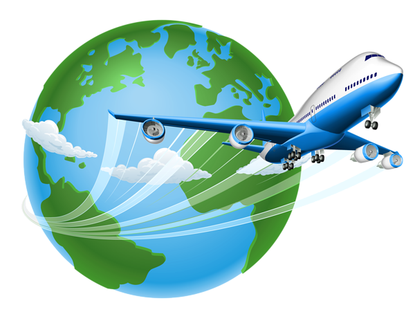 Traveler vector world. Air trave png clipart