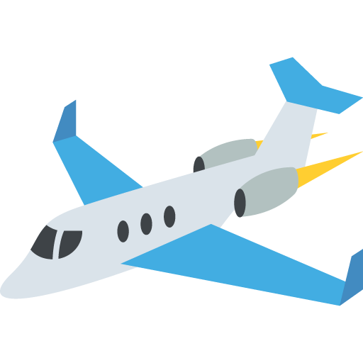 Plane emoji png. Small airplane for facebook