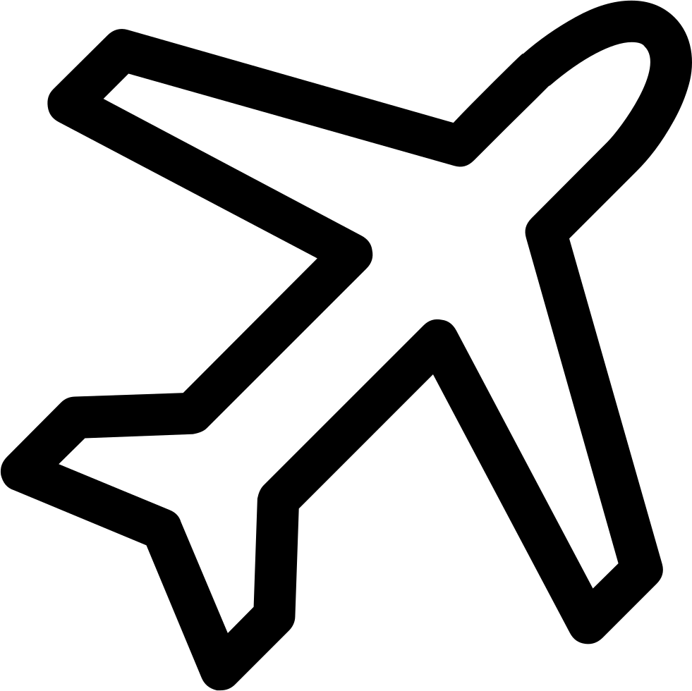 plane svg royalty free