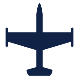 Airplane silhouette png. Passenger front view transparent
