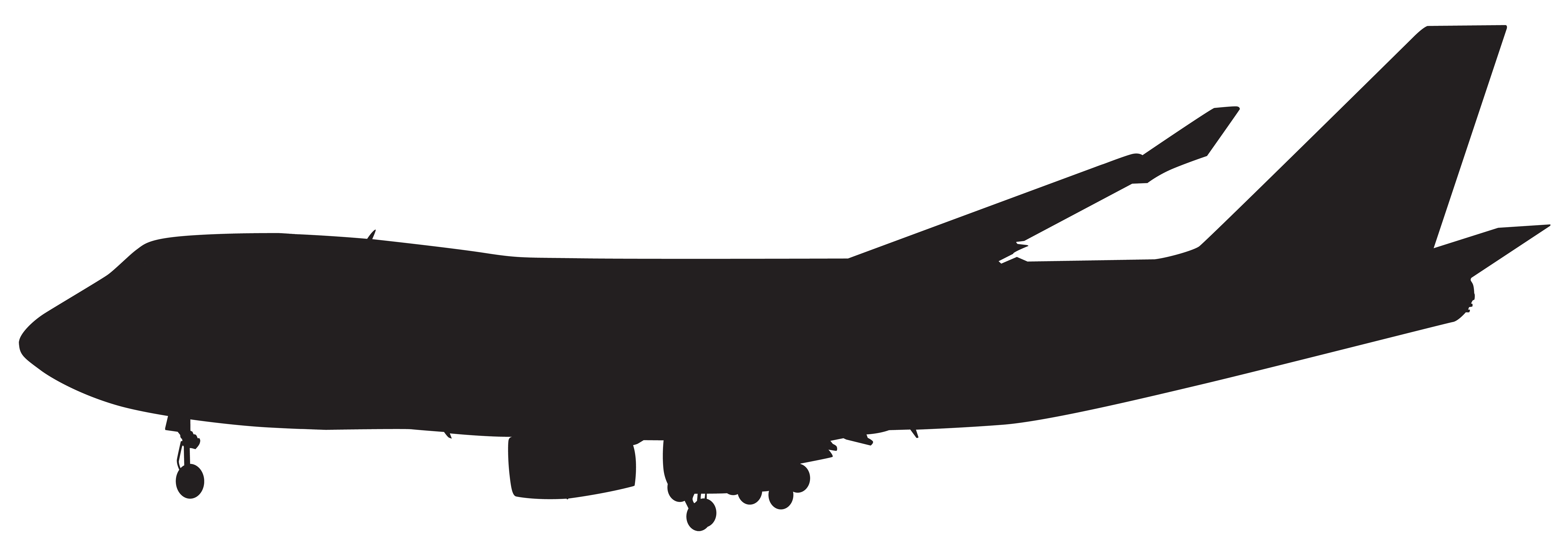 Airplane silhouette png. Clip art gallery yopriceville