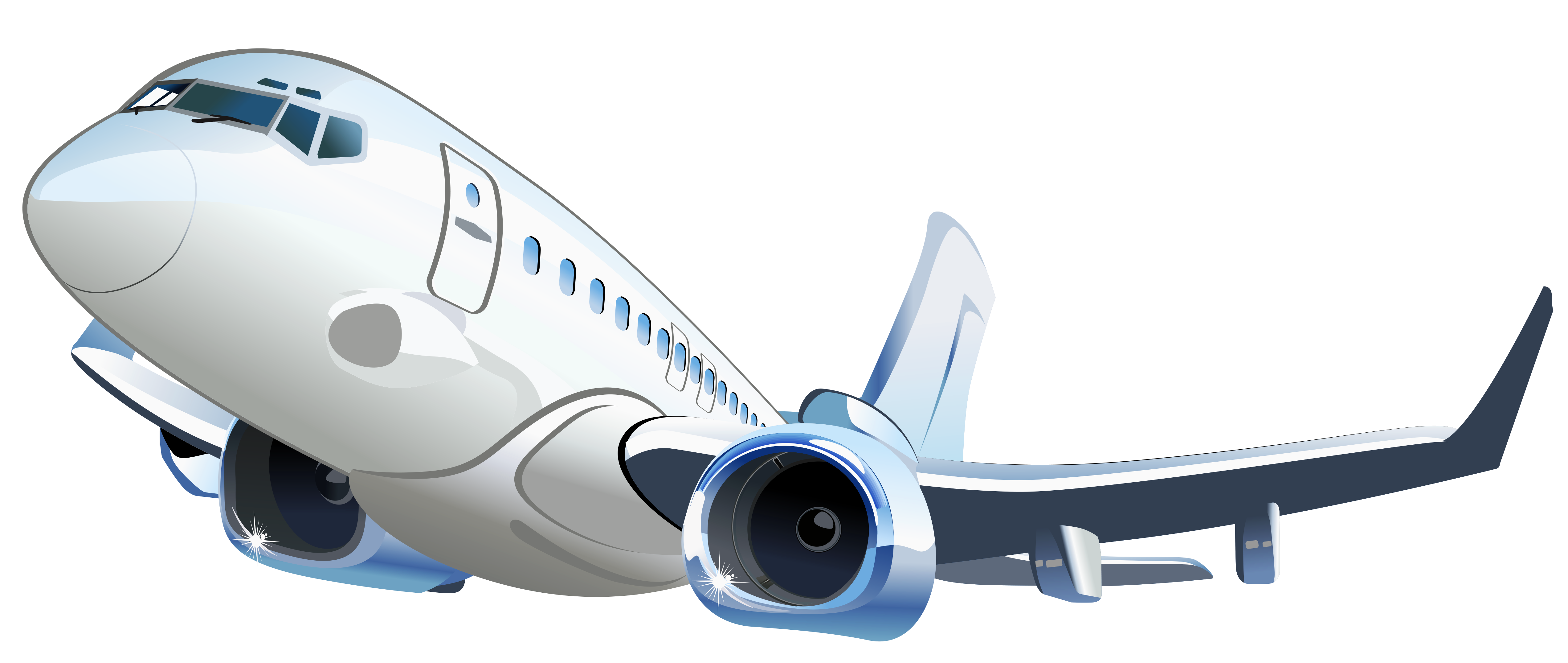 Aircraft vector. Airplane transparent clipart gallery