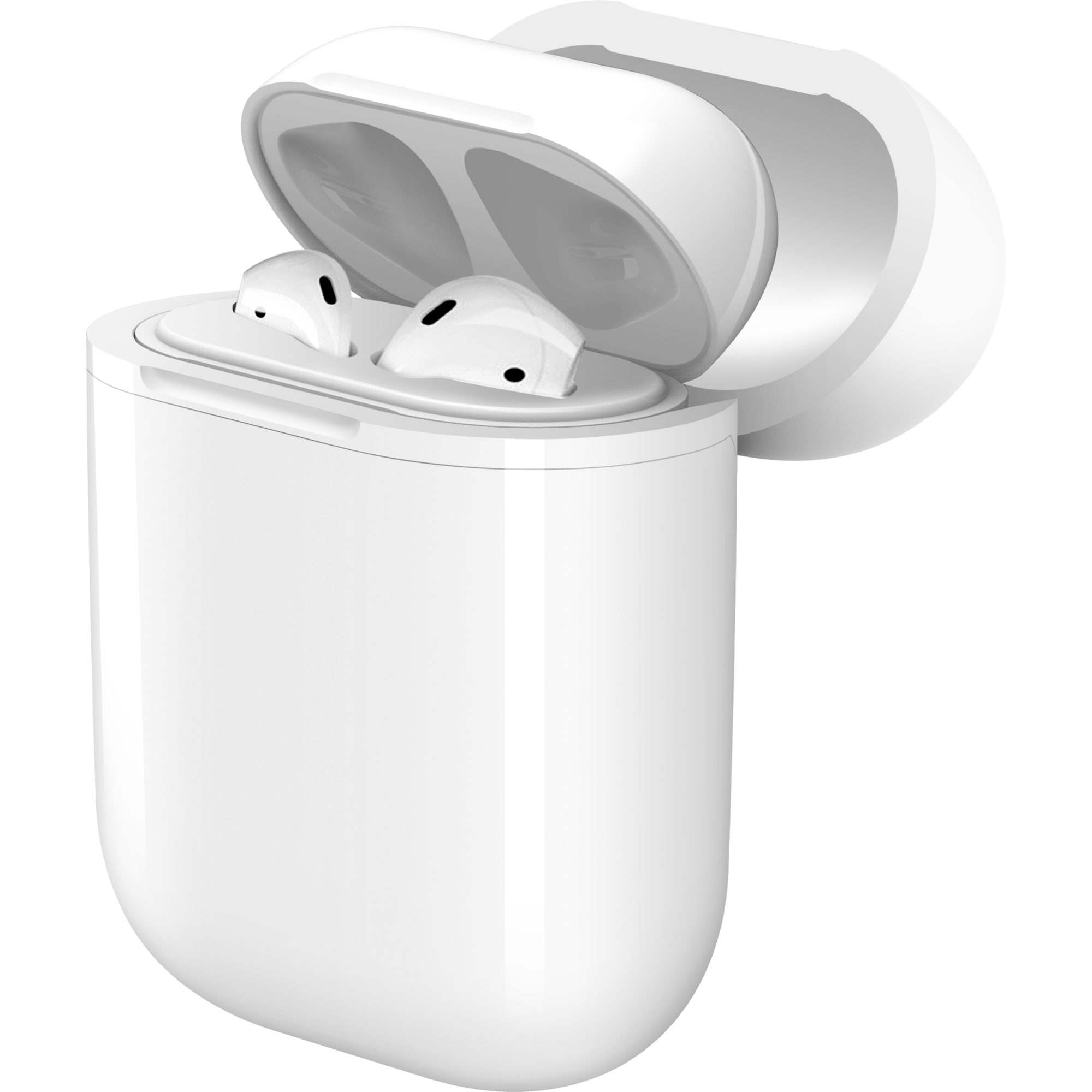Airpods clipart mini. Wireless charger case for