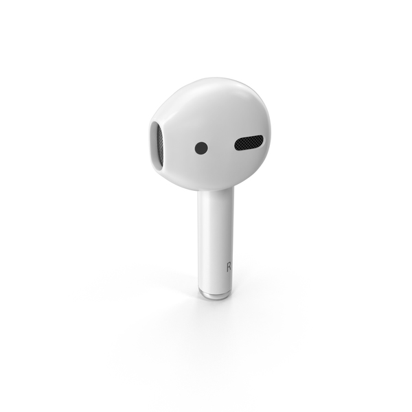 Airpods png white. Apple right bud images