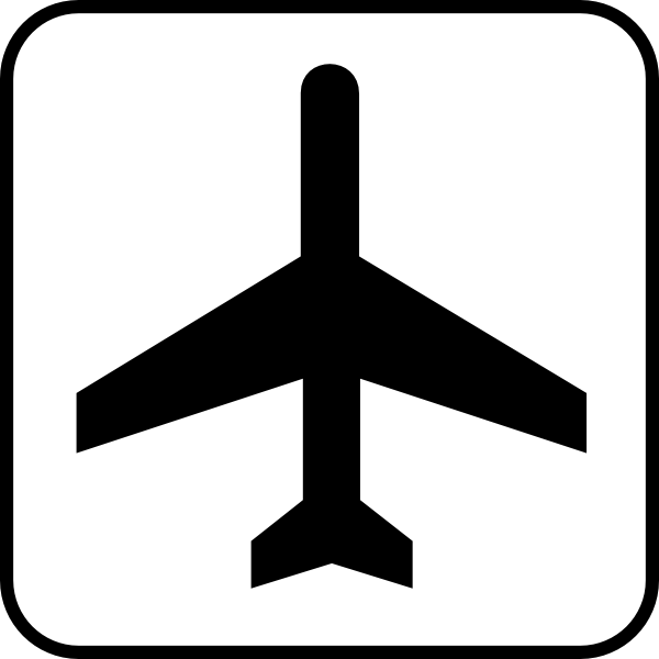 airport clipart airport map