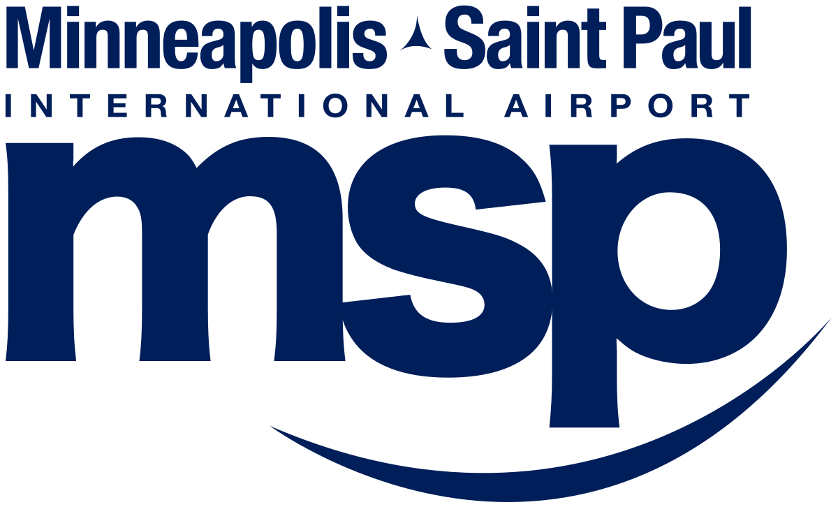 Airport vector people. Minneapolis saint paul international