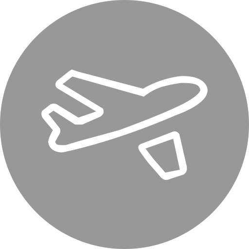 Airport vector reception. Custom travel icon png