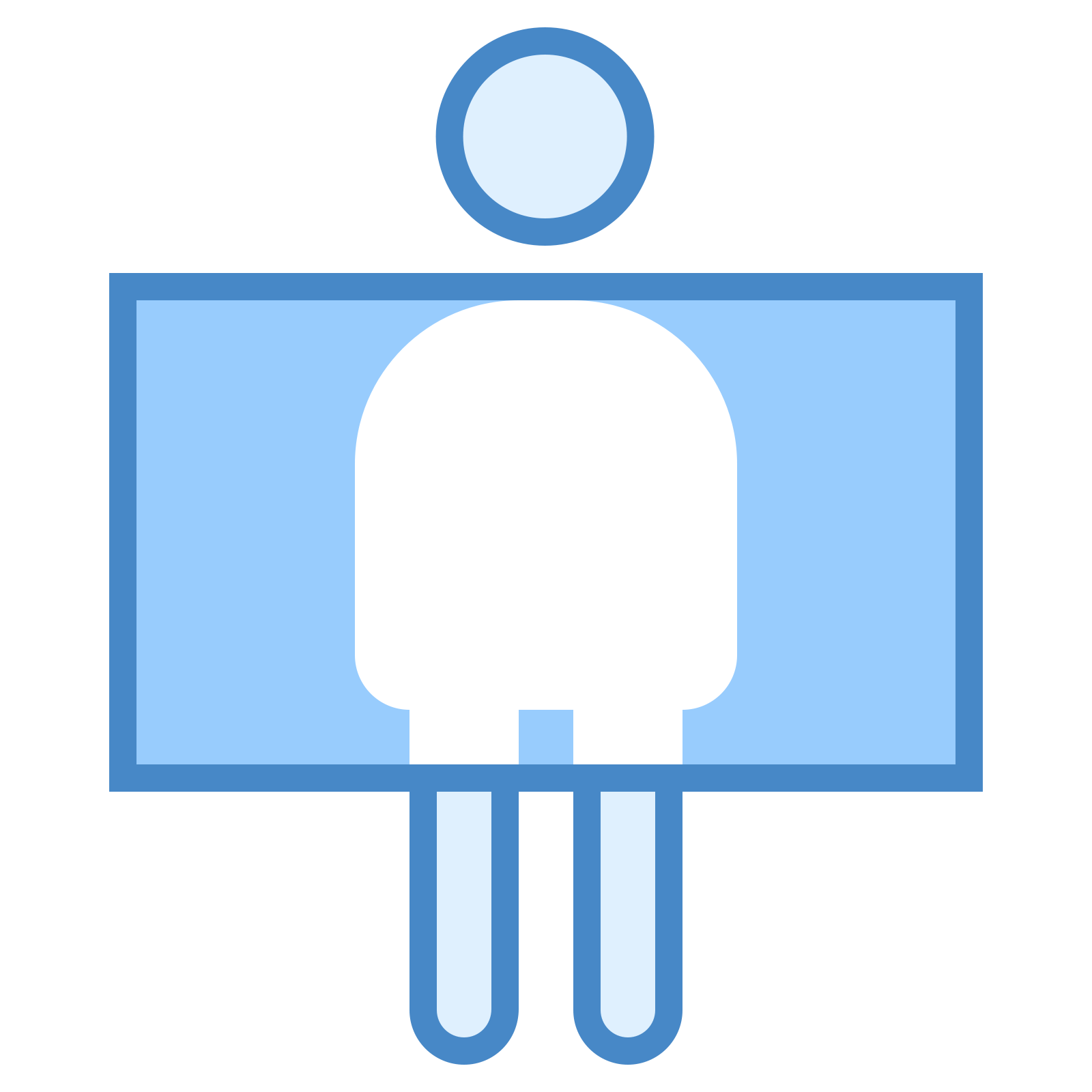 Airport vector scanner. Security icon free download