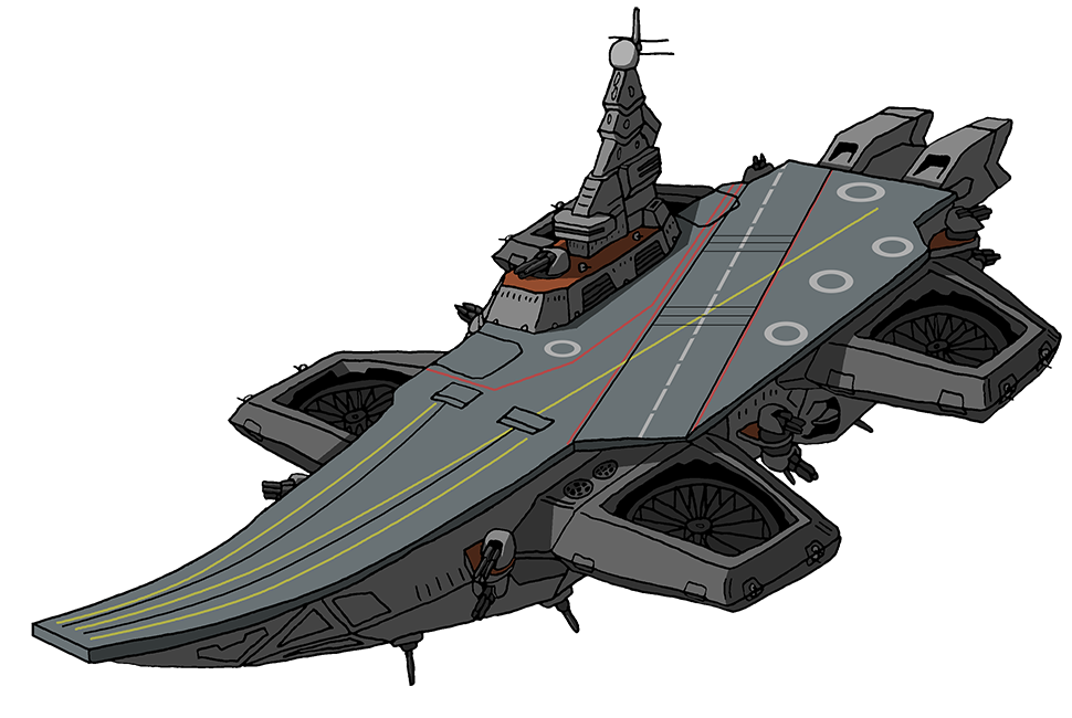 Project arkhangelsk class carrier. Airship drawing anime png freeuse library
