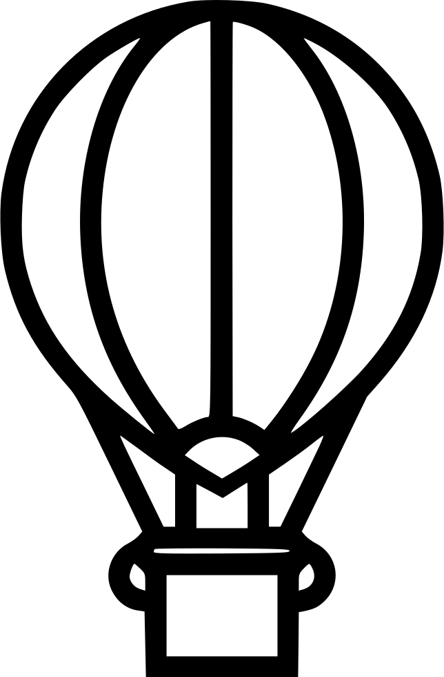Airship drawing classic. Svg png icon free
