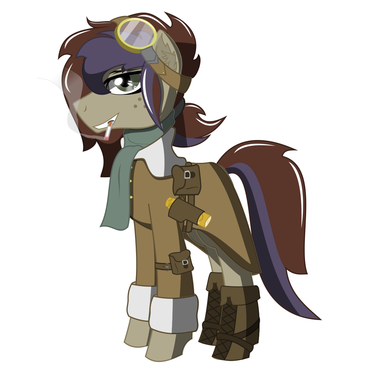 Airship drawing fictional. Ace steam scout equestria