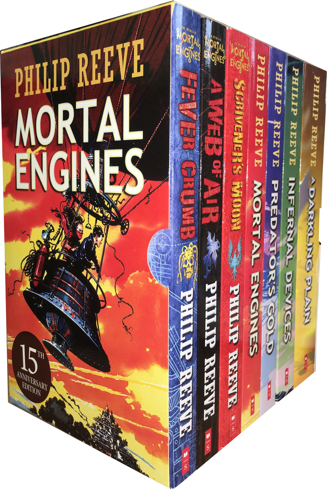 Airship drawing mortal engine. Engines quartet books collection