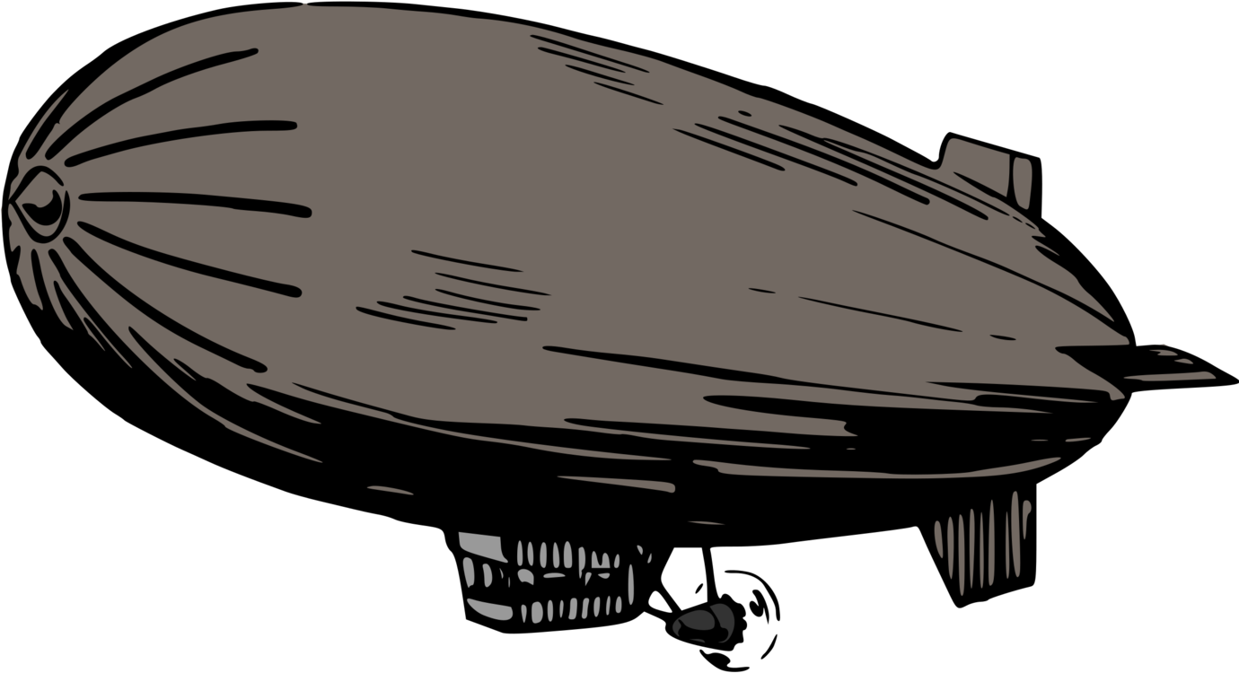 Airship drawing realistic. Goodyear blimp lz graf