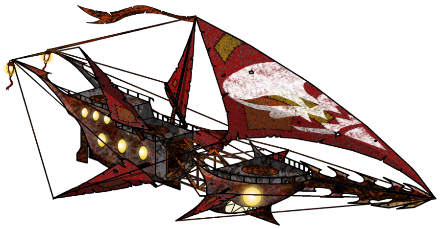 Airship drawing sci fi. This took me years