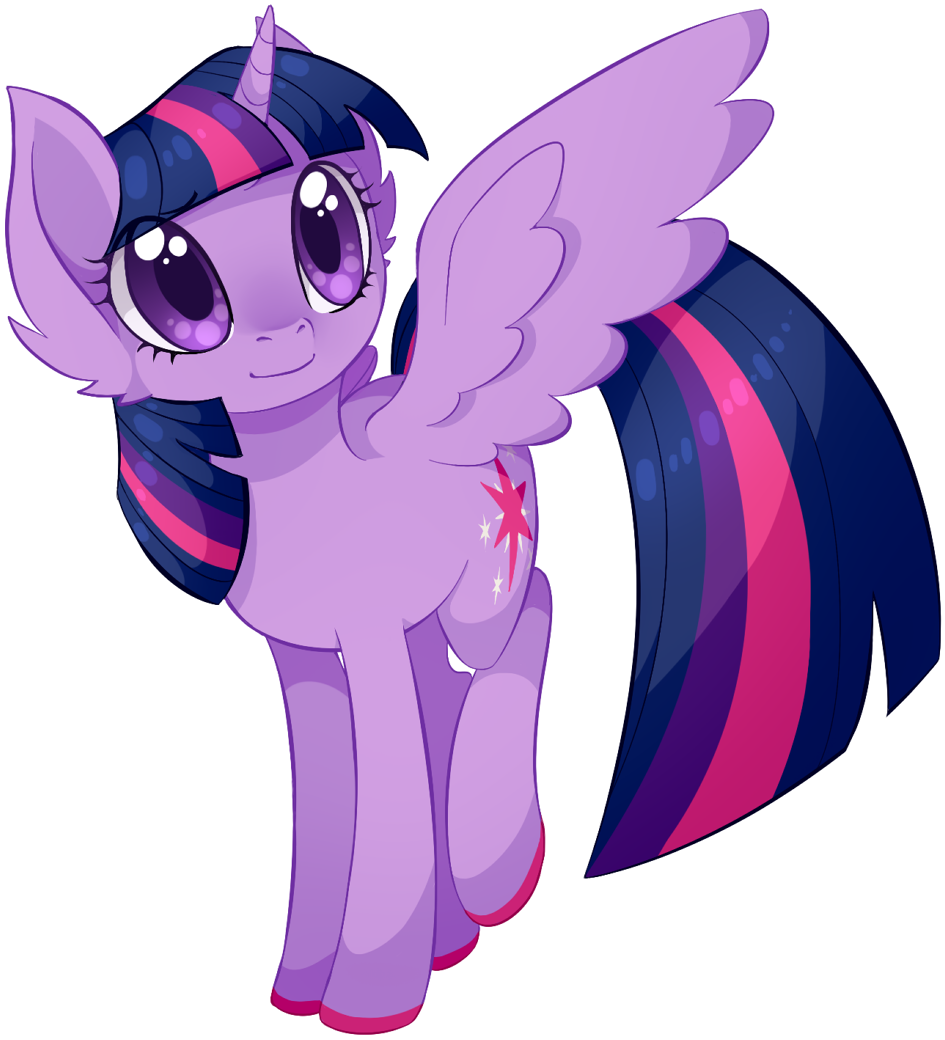 Airship drawing stardust. Twilight sparkle by uncertainstardust