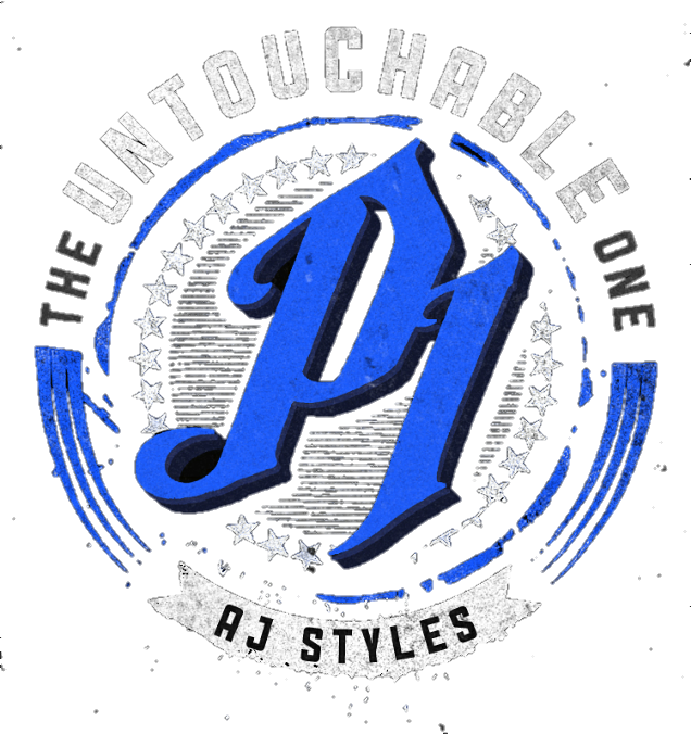 Aj styles logo png. Untouchable one blue by