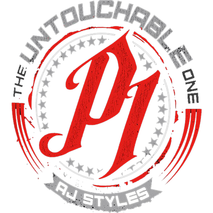 Aj styles logo png. Untouchable one red by