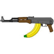 Long clip ak47. Ak with banana by