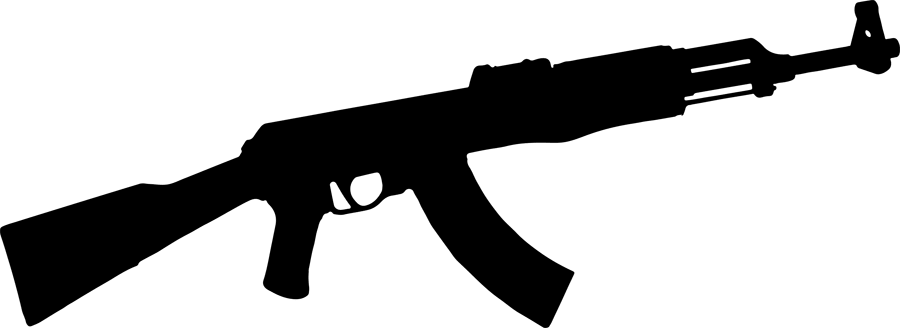 Ak drawing assault rifle. Review and comparison magazines