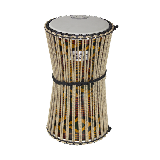Drummer vector drumming. Talking drum