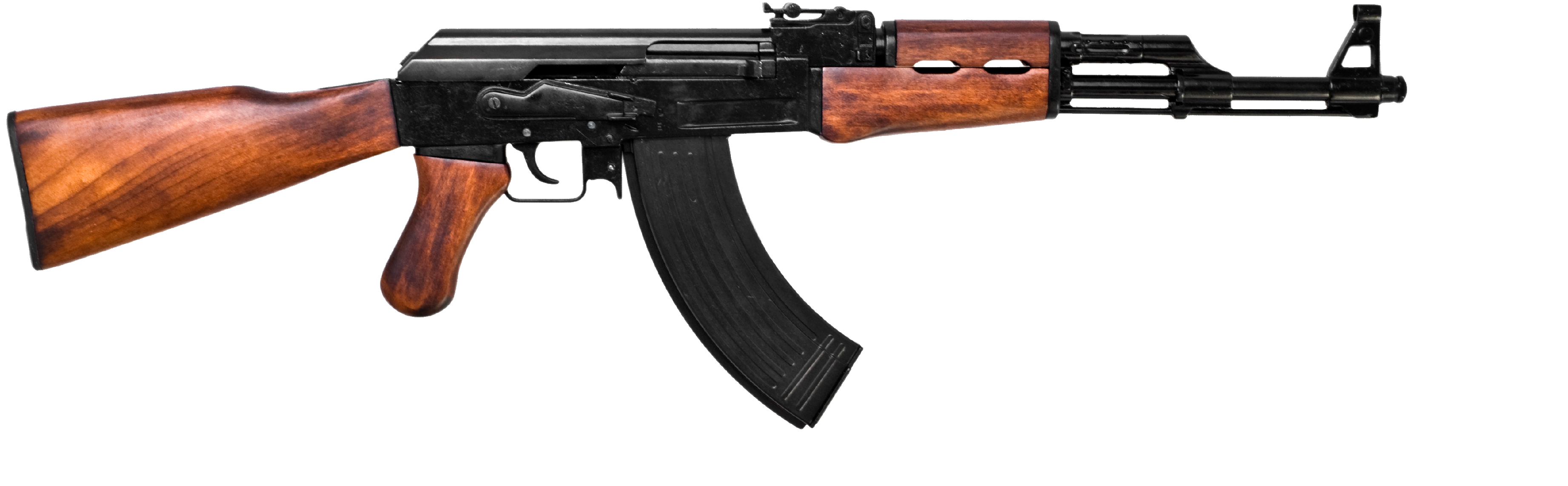 Ak png images free. Transparent rifle clipart black and white stock