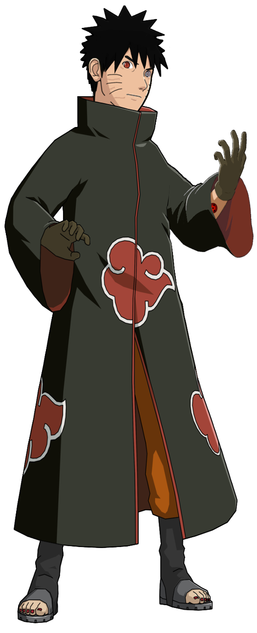 Akatsuki drawing clothes. The crossover game brawl