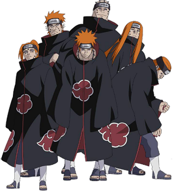 Akatsuki drawing team. Image result for evil