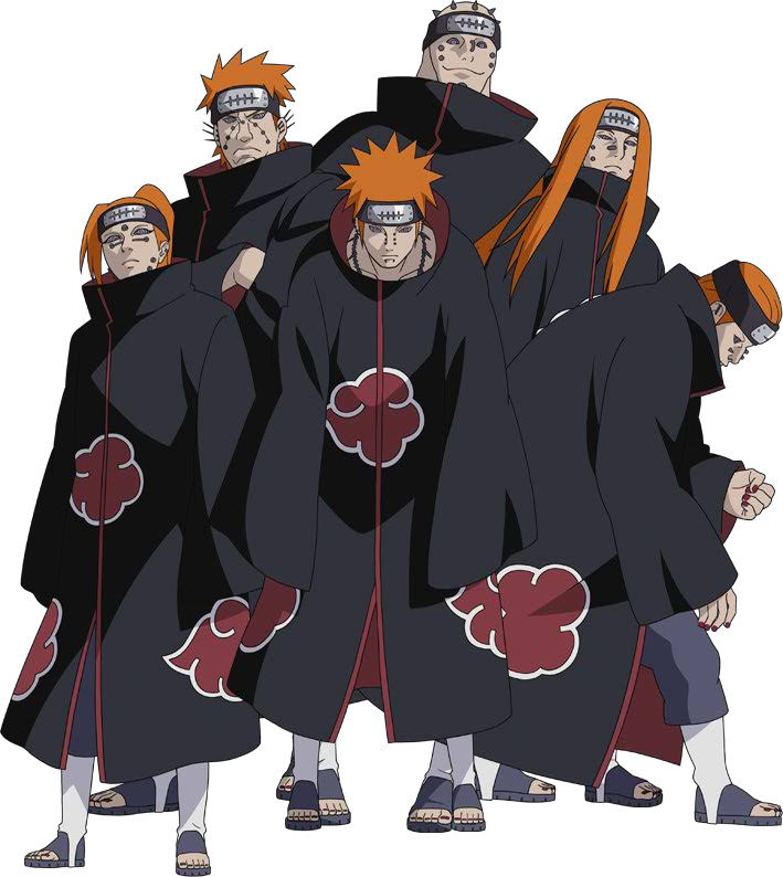 Akatsuki drawing clan. Members after the death