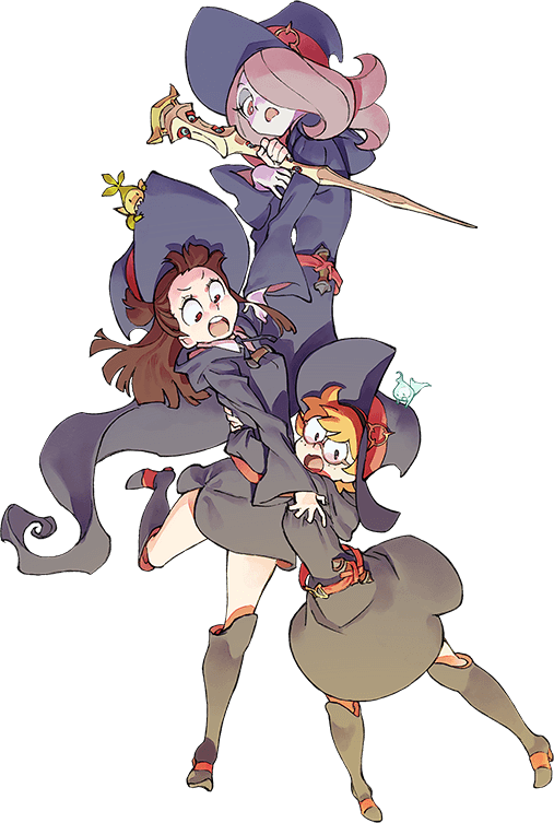 Akko little witch academia png.