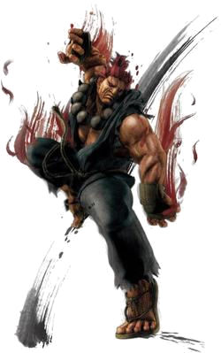 Akuma vector demon rage. Street fighter wikipedia