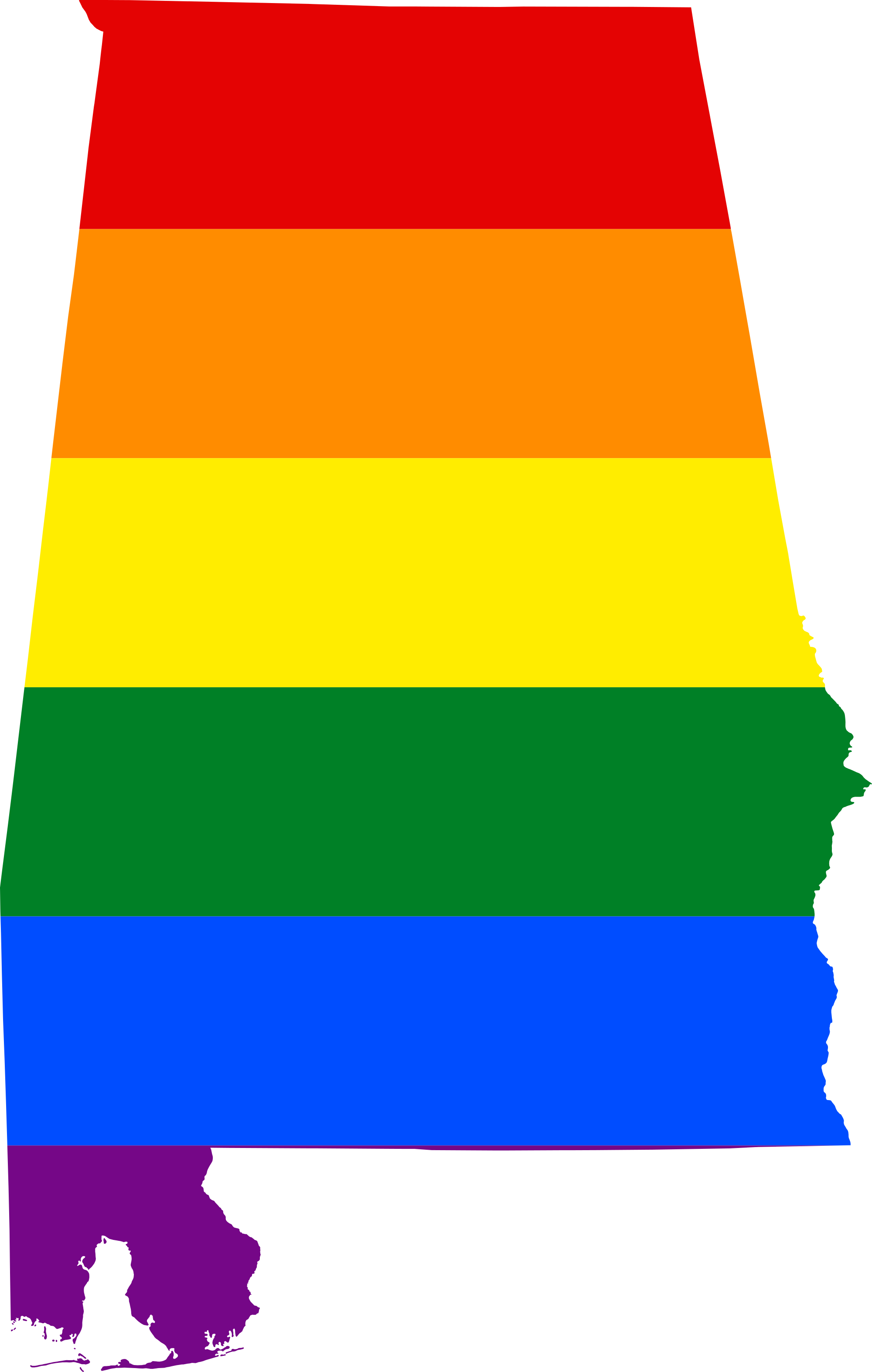 Image lgbt flag map. Alabama a png clip library stock