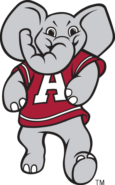 Alabama clipart cool. Crimson tide mascot logo