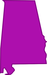 alabama outline png