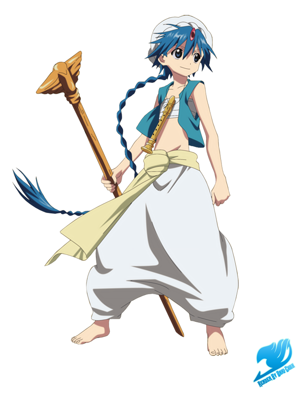 Aladdin anime confused png. Magi all worlds alliance