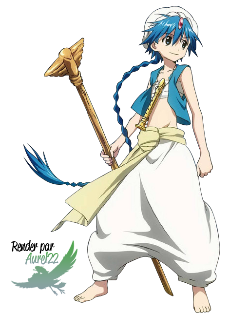 Aladdin anime confused png. Magi the labyrinth of