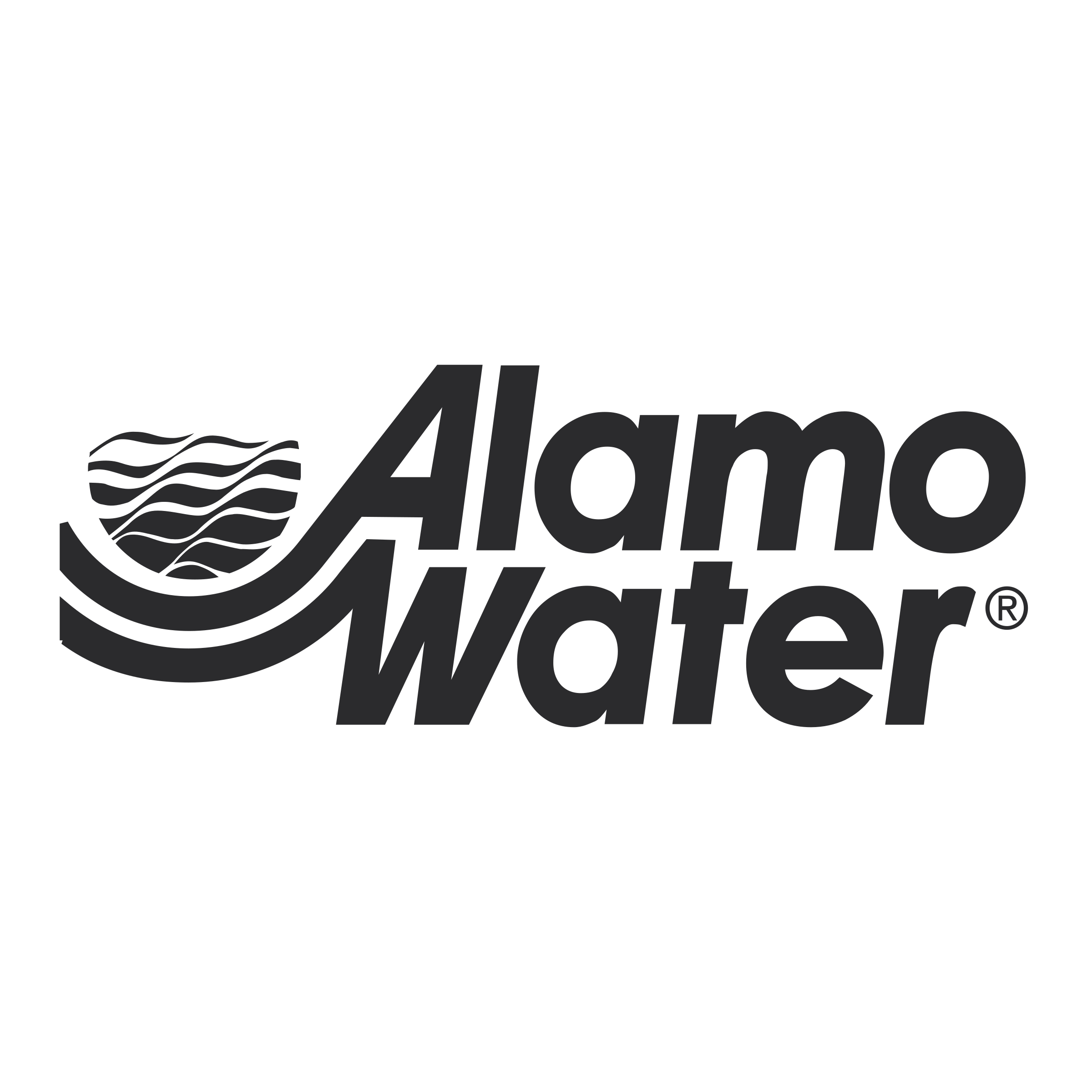 Alamo vector. Water logo png transparent