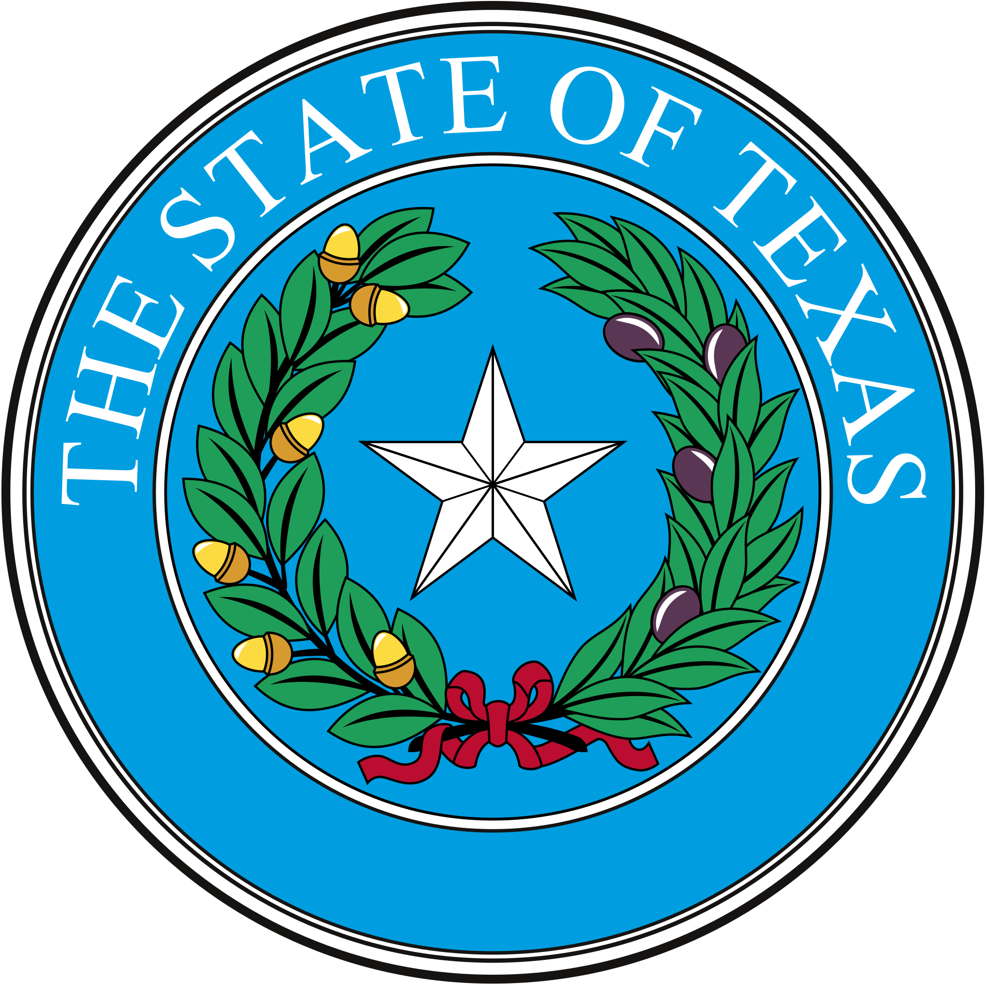 Alamo vector texas drawing. Seal of wikipedia official