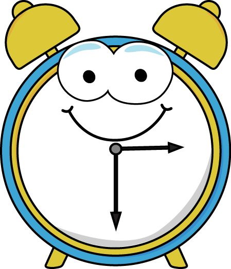 Alarm clipart cartoon. Clock clip art panda
